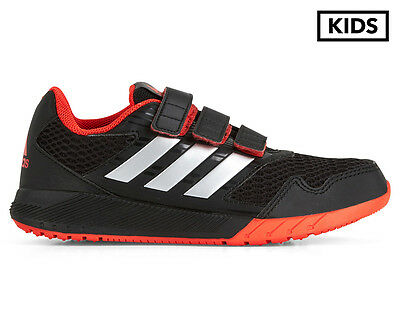 Adidas Pre-School Boys' AltaRun Shoe - Core Black/Silver Metallic/Core Red