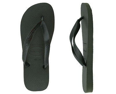 Havaianas Top Thongs - Green Olive