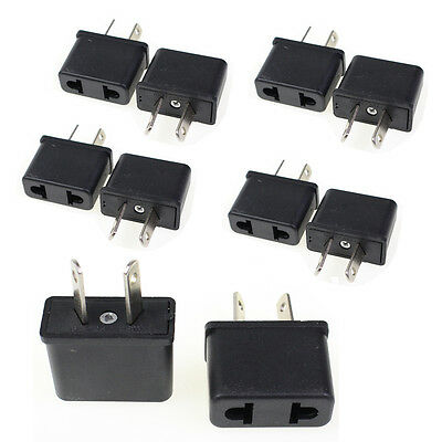 Lot 10 Pcs US EU To Au Socket 220v Ac Power Plug Adapter Outlet Travel Converter
