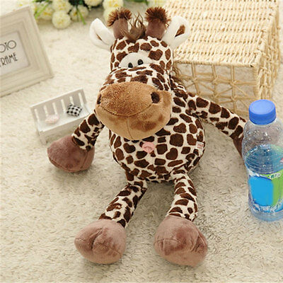 Giraffe Leopard Print Plush Toys Home Decor Decoration For Baby Family Kid