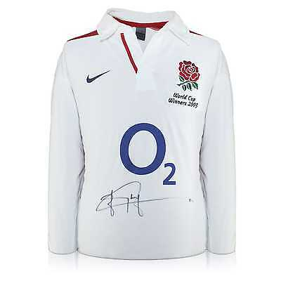 Jonny Wilkinson Signed Official World Cup 2003 England Rugby Jersey Collectables