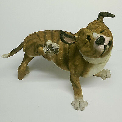 Country Artists A Breed Apart PETAL THE STAFFORDSHIRE BULL TERRIER Large Figure