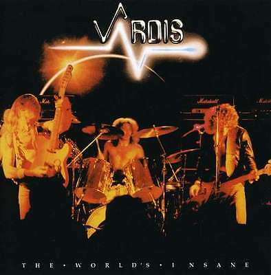 Vardis - The World's Insane (2009)  CD  NEW/SEALED  SPEEDYPOST