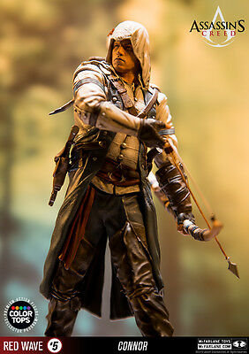 McFARLANE ASSASSINS CREED - CONNOR - COLOR TOPS - NEU/OVP