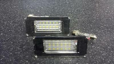 Mini R56 Hatch (2006-) 18 SMD LED Number License Plate Upgrade Units 6000K White