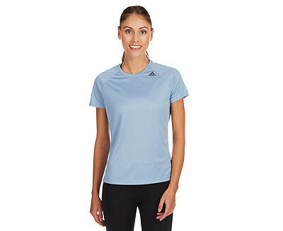 Adidas Women's D2M Loose Tee - Blue
