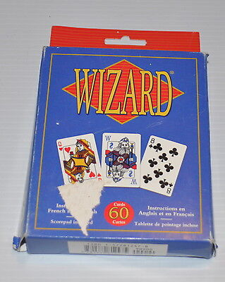 WIZARD CARD GAME US Games Systems (missing instructions)