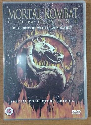 Mortal Kombat Conquest (DVD, 2001) **NEW SEALED FREE POSTAGE** UK
