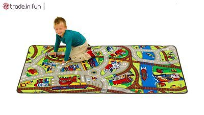 children's play rug with roads kids rugs for playroom Hot Wheels Learning Carpet