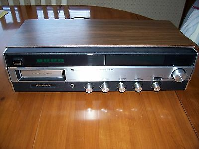 Vintage Panasonic Eight 8 Track Stereo Recorder Deck Model RE-7820