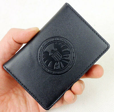 Captain America Agents Of Shield Agent Commander Phil Coulson Id Card Holder