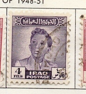Iraq 1942-51 Early Issue Fine Used 4f. 138980