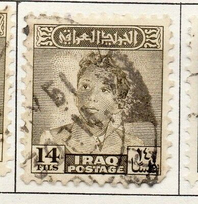 Iraq 1942-51 Early Issue Fine Used 14f. 138988