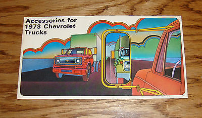 Original 1973 Chevrolet Truck Accessories Catalog Sales Brochure 73 Chevy