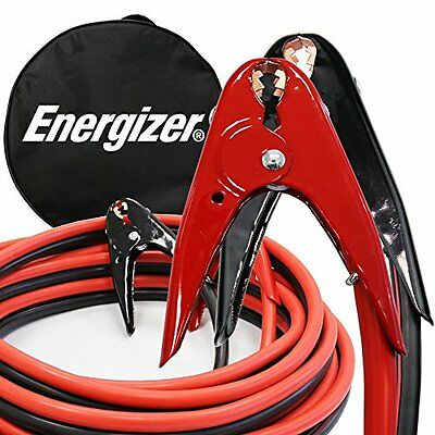 Energizer 1-Gauge 800A Heavy Duty Jumper Battery Cable 25 Ft Booster Jump
