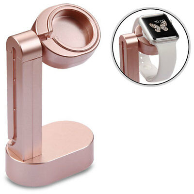 For Apple Watch 38-42mm Edition Rose Gold Cradle Stand Holder (with Package)