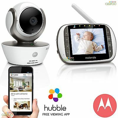 Motorola MBP853 Connect Wifi Security Video Baby Monitor CCTV