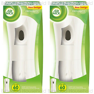 2 x AIRWICK AIR WICK FRESHMATIC MAX AUTOMATIC SPRAY MACHINE UNIT GADGET