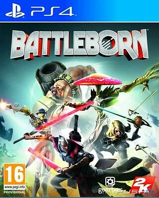 60 x BATTLEBORN PS4 NEW AND SEALED - PAL - FRENCH CASE, ENGLISH GAMEPLAY