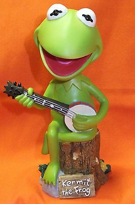 Kermit The Frog Bobble Dobbles Limited Edition Hand Painted Bobblehead