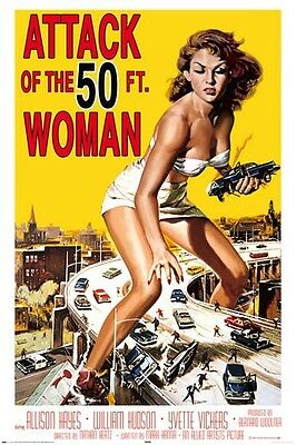 Attack of the 50ft Woman Poster  61cmx91cm  New Licensed