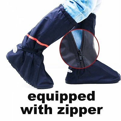 Women Men Unisex Non Slip Shoe Boot Covers Motorcycle Rain Waterproof Protector