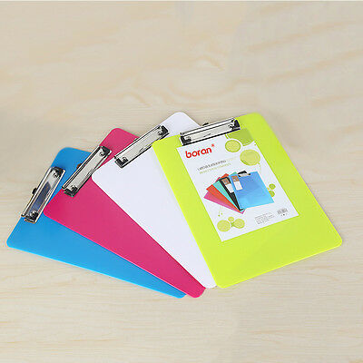 Plastic A5 A4 File Paper Clip Writing Board Document Clipboard Office Supplies
