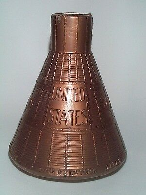 1960's Nasa Project Mercury Alan Shepard John Glenn Space Capsule Souvenir Bank