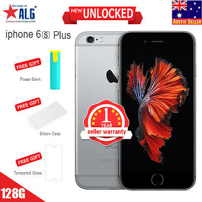 New Apple iPhone 6S Plus 128GB Mobile Phone Space Gray Unlocked in Sealed Box