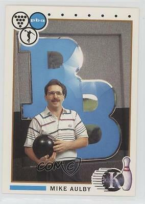 1990 Kingpins PBA #66 Mike Aulby Bowling Card 0w6