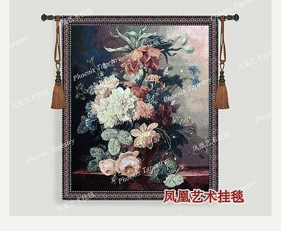 Tapestry wall hanging landscape antique medieval mural living room wall pictures
