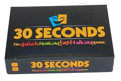 30 SECOND GAME Family Board Game Kid Adult Educational Toy Hot Fun Party Fun
