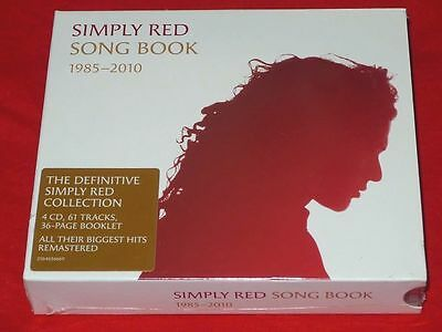 Simply Red - Song Book : 1985 - 2010 4Cd Box Set