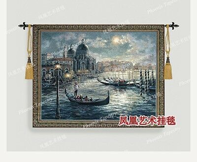 Scenery of Venice nautical art  Wall hanging tapestry living room wall pictures