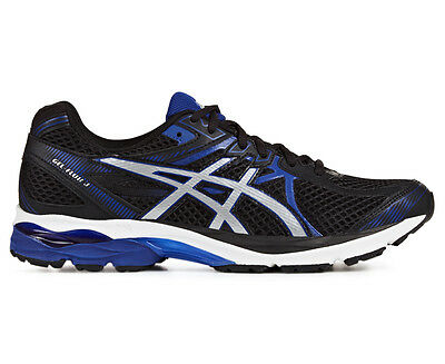 ASICS Men's GEL-Flux 3 Shoe - Black/Silver/Asics Blue