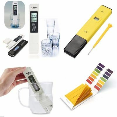 Digital TDS Meter+PH Tester Paper Aquarium Pool Hydroponic Water Test Pen Stick