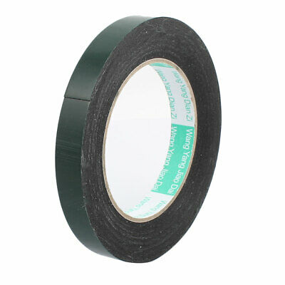 10M x 15mm x 0.5mm Double-side Self Adhesive Shockproof Sponge Tape Green