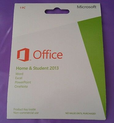 microsoft office home and student 2016 product key card ohne datentr ger box eur 108 88. Black Bedroom Furniture Sets. Home Design Ideas