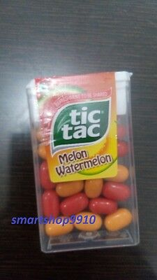 TIC TAC melon watermelon Flavoure (PACK OF 6) CANDY 10.7gm