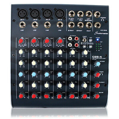 Studiomaster C4USB 8 Channel PA Mixer with USB