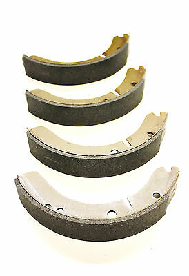 A Set Of 4 Front Or Rear Brake Shoes For The Mga