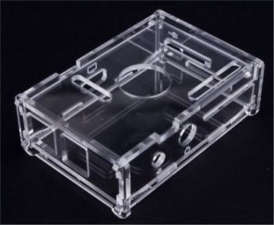 Raspberry Pi 3 B+ Shell Enclosure Computer Box Transparent Clear Acrylic Case D