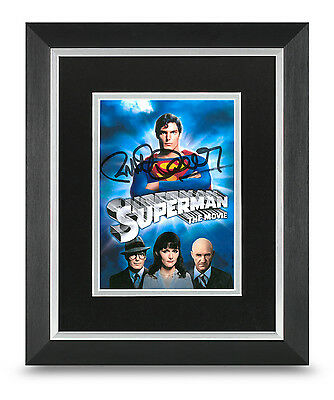 Richard Donner Signed 10x8 Photo Display Framed Superman Autograph Memorabilia