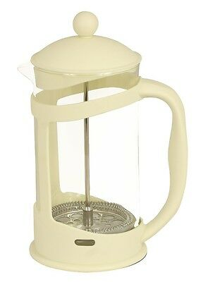 Sabichi Cream 1L Glass French Filter Coffee New Cafeterie Press Plunger 121486_I