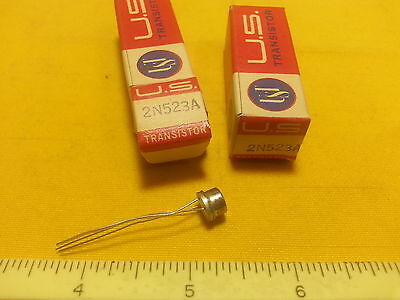 2 - 2N523A US Transistor Germanium PNP Oscillator Mixer TO5