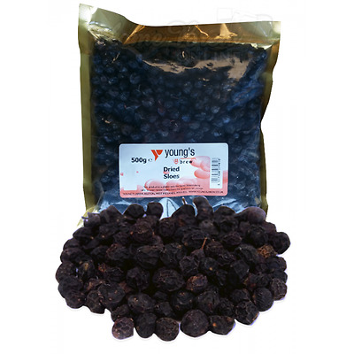 Dried Sloes for Home Brew Gin Wine Making Jam Country Wine Berries 500g FREE P&P