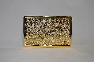 Vintage NOS Fireman Firefighter Uniform Gold Tone Belt Buckle