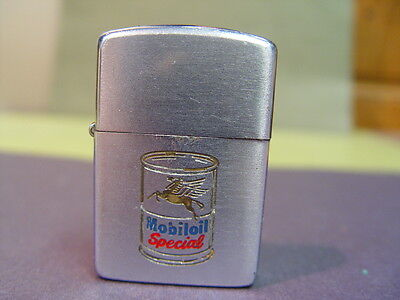 ZIPPO lifgter-Mobil oil- 2 sided-1950's