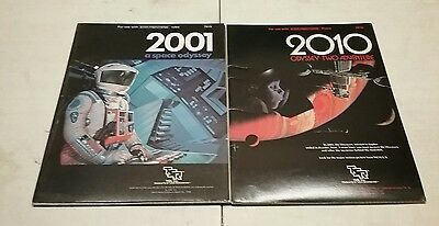 2001 a Space Odyssey and 2010 Odyssey 2 RPG Books (Star Frontiers)