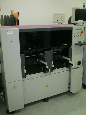 Assembleon Topaz XII Pick & Place Machine W/FES Carts